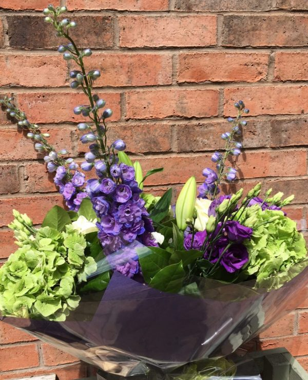 Delphinium Burst - Standard( As Shown) - All About Flowers Online Ordering