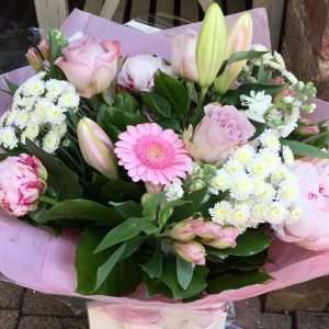 Pink Blush - Standard( As Shown) - All About Flowers Online Ordering