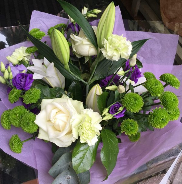 Purple Zest - All About Flowers Online Ordering