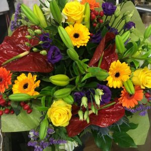 Vibrant Exotic - All About Flowers Online Ordering